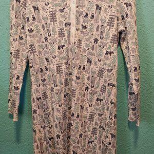 NWT Women's Roller Rabbit Nordic Folk Dress XS
